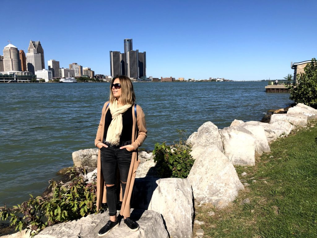 Uliana Hlynchak in Windsor, Ontario
